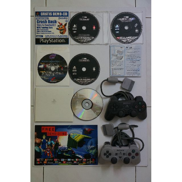Full Set Original Genuine Sony PlayStation (PS/PS1)
