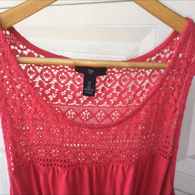 GAP Coral Dress