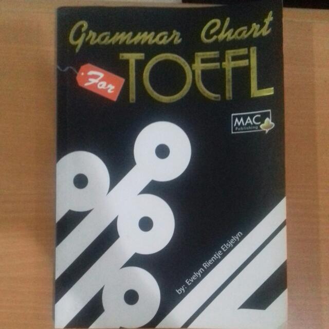 Grammar Chart TOEFL Book
