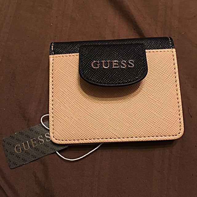 GUESS Beige/Black Wallet