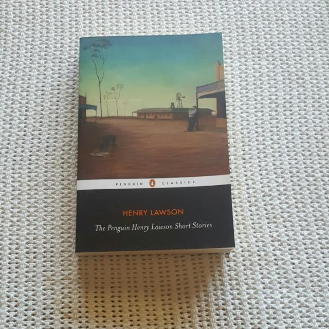 Henry Lawson Book Of Poems And Short Stories