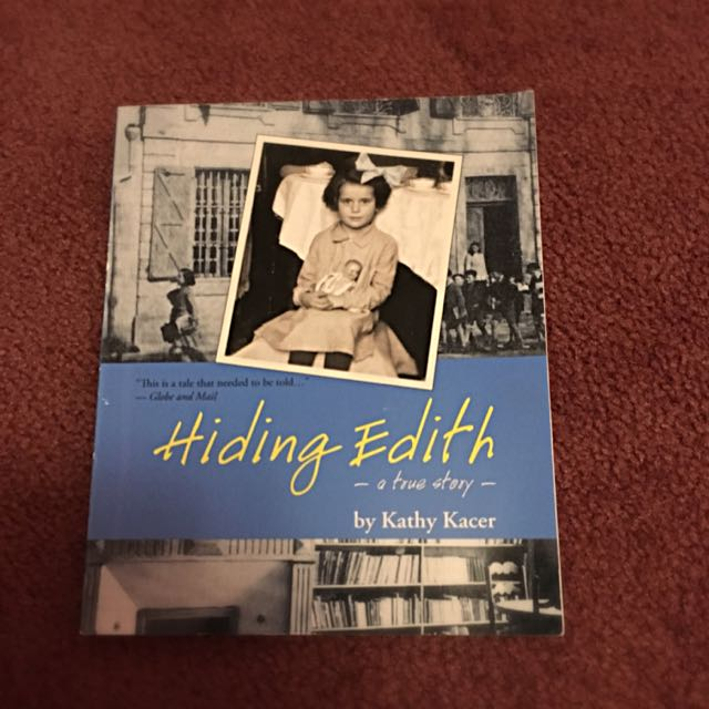 Hiding Edith By Kathy Kacer