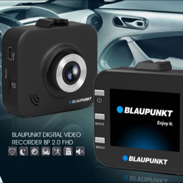 in car dash camera blaupunkt bp 2 0 fhd digital video. Black Bedroom Furniture Sets. Home Design Ideas