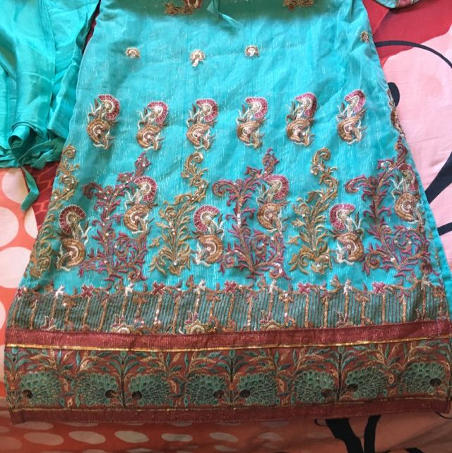 Indian Suit Fully Embroidered