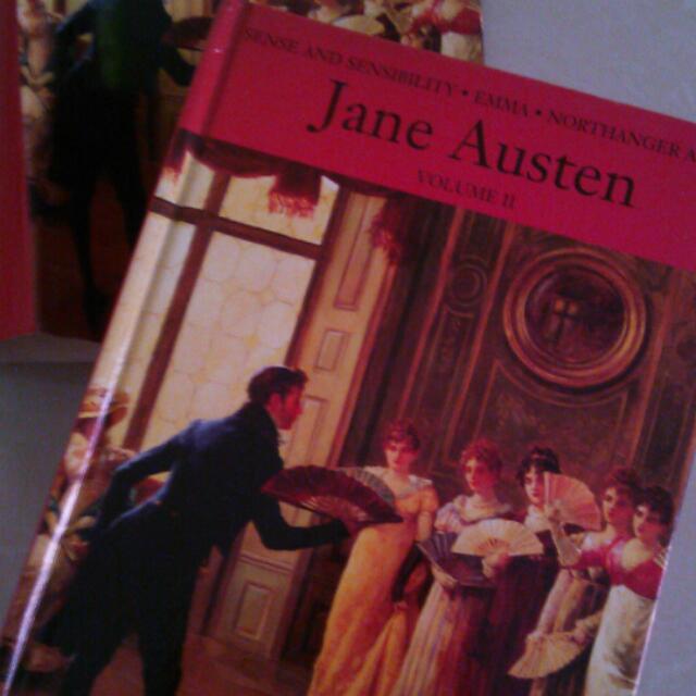 Jane Austen Volume II Hardcover With Dust Jacket