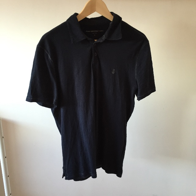 John Varvatos - Polo T-Shirt with logo