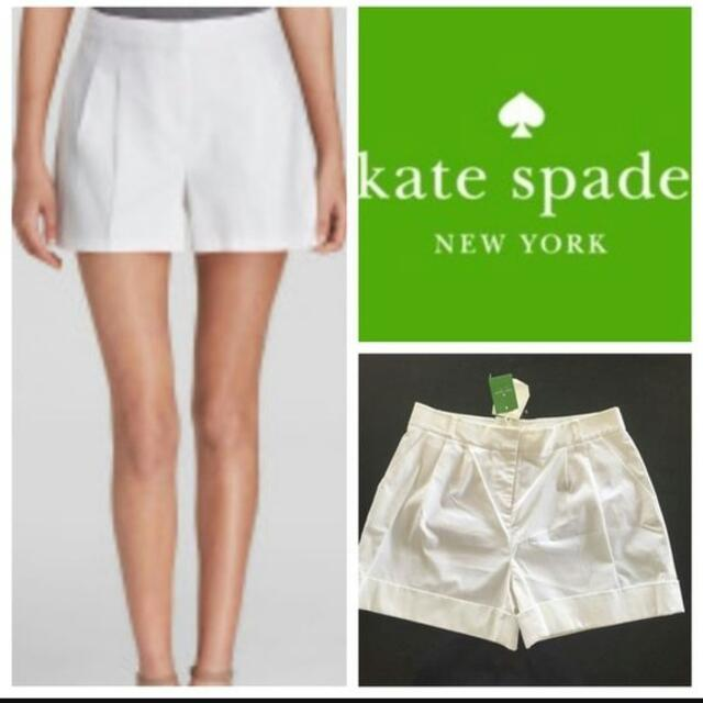 Kate Spade White Shorts