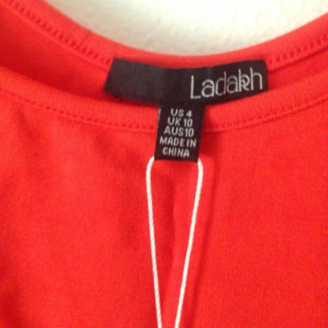Ladakh Coral Dress