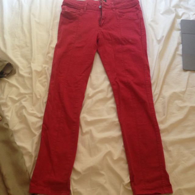 Lee Red Jeans