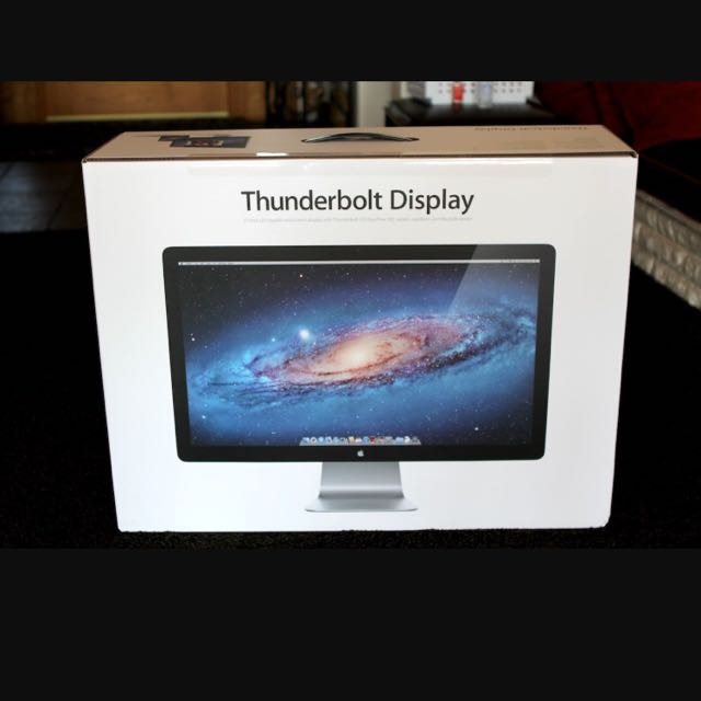 """Looking for Apple 27"""" Thunderbolt Display Box"""