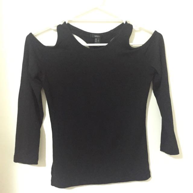 MANGO black Tshirt