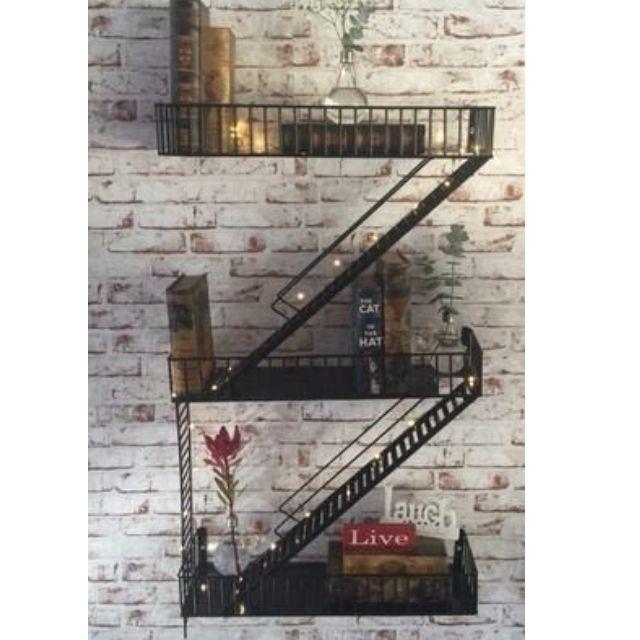 Manhattan Staircase Shelf