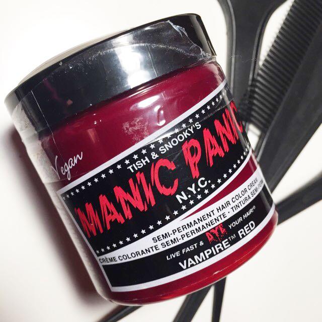 SET Manic Panic Vampire Red Hair Dye