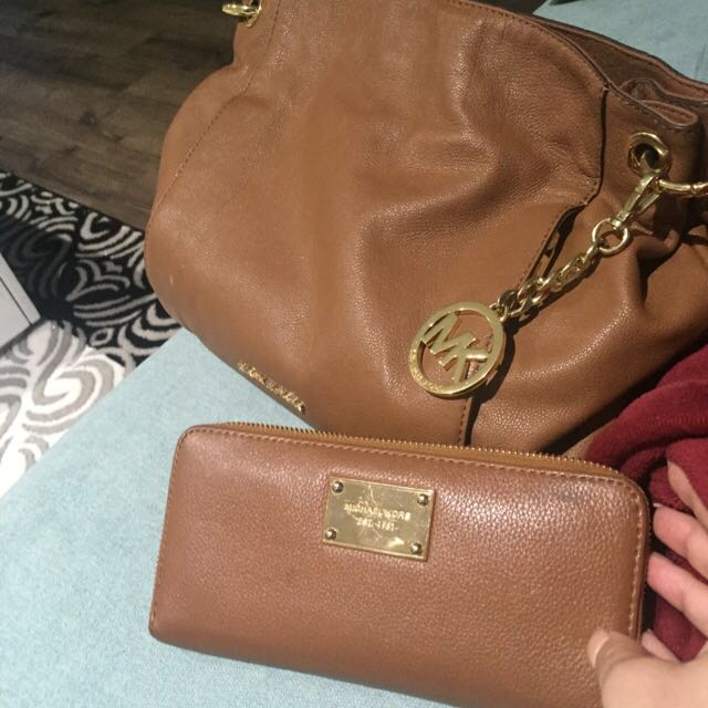 Michael Kors Bag And Wallet Orginal