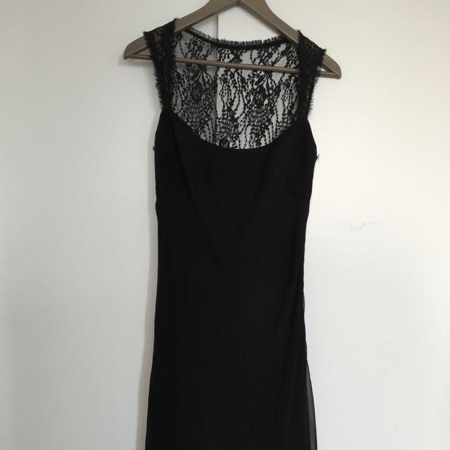 Nice Black Evening Dress