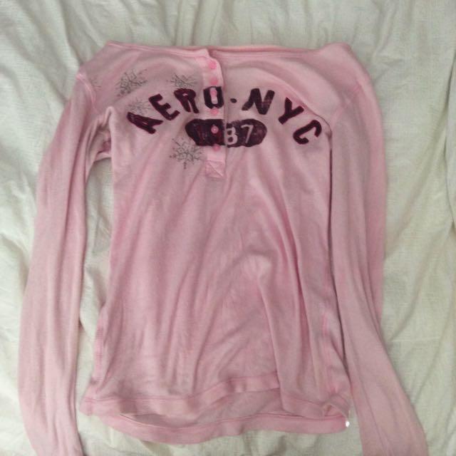 Pink Aeropostale Shirt