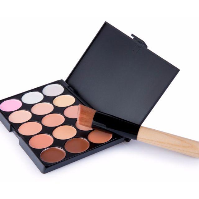 [PO]  15 Colors Makeup Concealer Palette