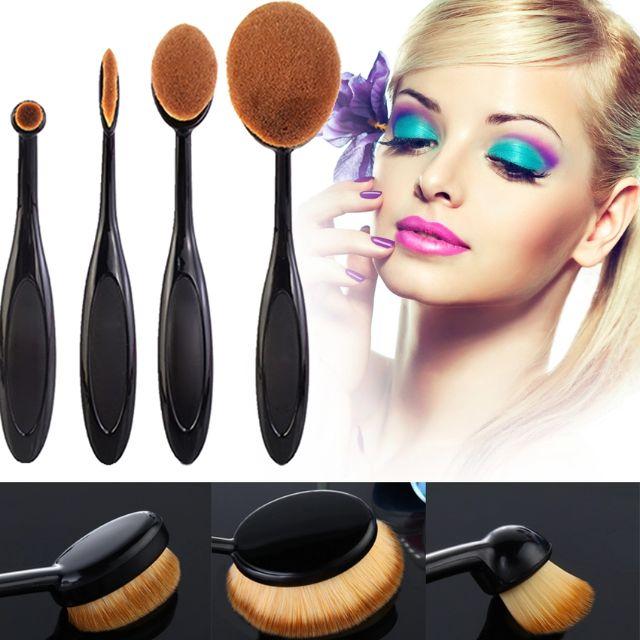 [PO] Toothbrush Oval Foundation Brush Set