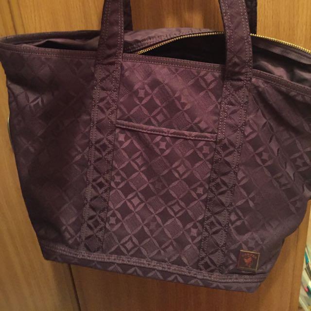porter紫色包包✨