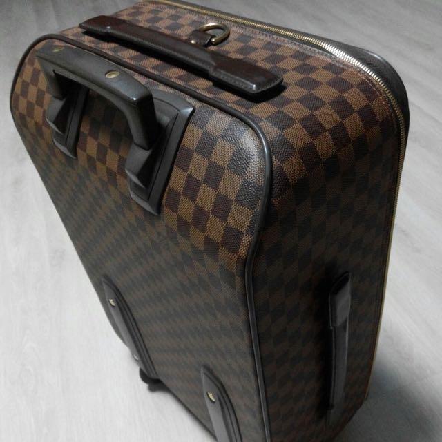 5f7bc625d649 LOUIS VUITTON® Pégase 55 Business Damier Ebene Canvas - Rolling Luggage  Travel