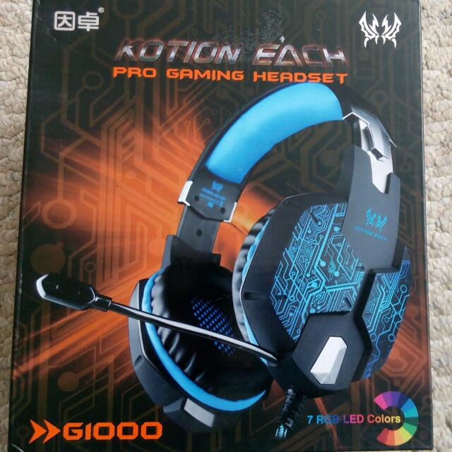 Stereo Gaming Headset With Microphone For Mac And PC