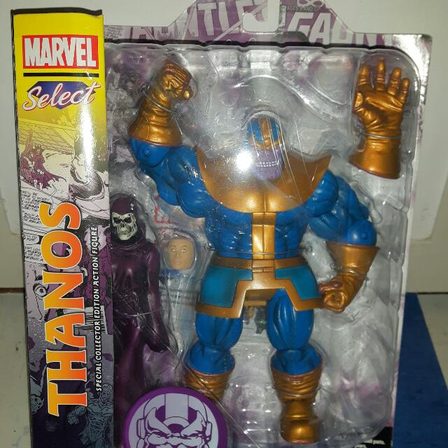 THANOS And Death Action Figure