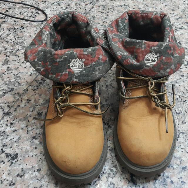 Timberland 帥氣 童靴 馬丁靴