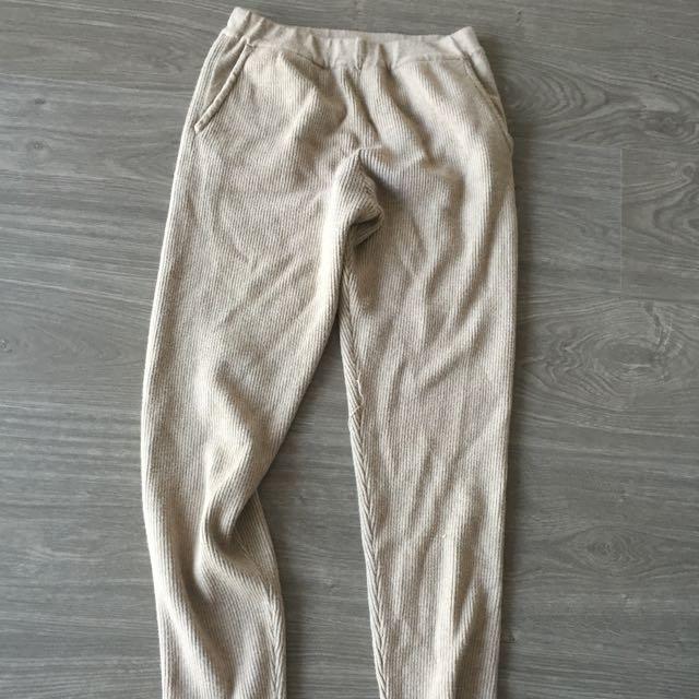 Yeezy Style Brown Leggings