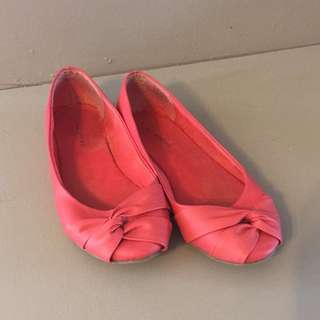 Coral Call It Spring Flats