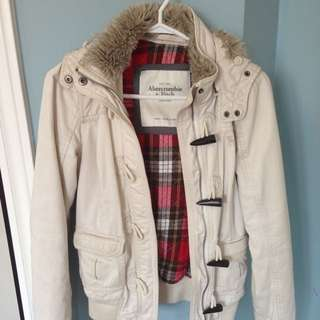 Abercrombie Jacket With Fur
