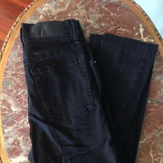 Cheap Monday Black High Waisted Skinny Jeans
