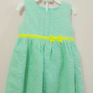 Dress Carter's Ori  18 Month/ 1-2 Thn