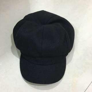 貝蕾帽-黑