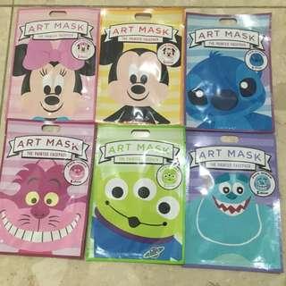 日本迪士尼商店限定 日本購入 迪士尼系列面膜