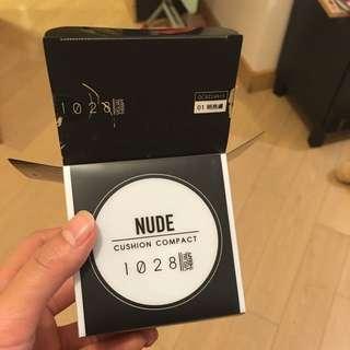 1028 輕裸光呼吸氣墊粉餅(01 明亮膚)