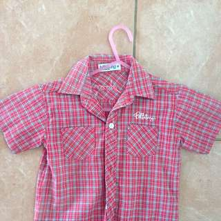 Boys Billabong Collared Shirt