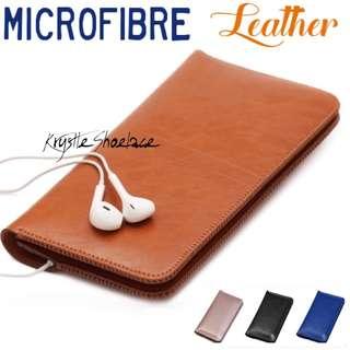 Phone Wallet Men & Women Genuine Microfibre Leather
