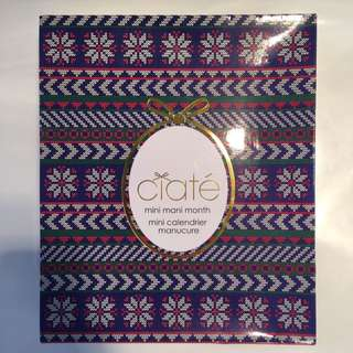 Ciate Mini Mani Advent Colander
