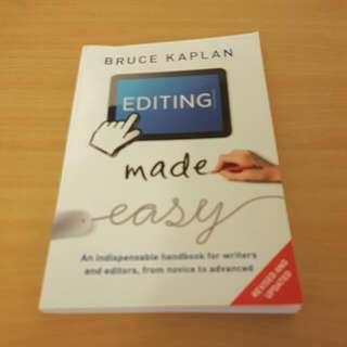 "Bruce Kaplan ""Editing Made Easy"""