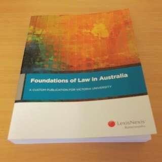"""Lexis Nexis """" Foundations Of Law In Australia"""""""
