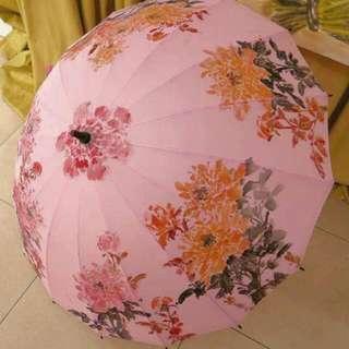 雨傘 富貴藝術傘-SJAM世界藝術館