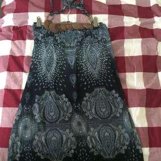 Beach Halter Dress