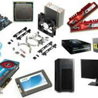 Cheap PC Parts (Can Also Build A Pc For You)