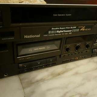 National 4 Head VCR NV-G20