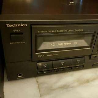 Technics RS-TR515 Stereo Double Cassette Deck