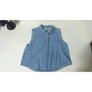 American Apparel Soft Denim Shirt