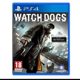 PS 4 WATCH DOG ONLY $10
