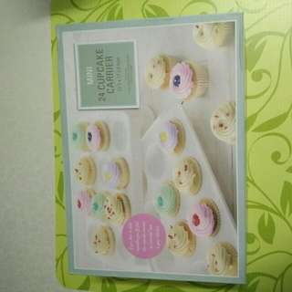 (Reduce$) Mini 24 Cupcakes Carrier= Price Reduce To $ 12