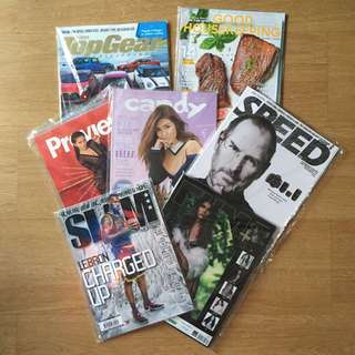 Assorted Magazines for P20