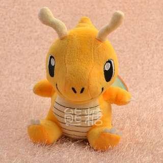 🚚 ๑熊糖๑日本 Pokemon 寵物小精靈 寶可夢 口袋妖怪 神奇寶貝 Q版快龍 公仔
